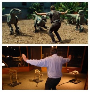 Prattkeeping in the Moa Gallery